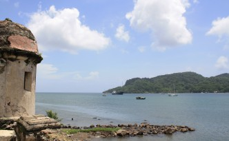 "This beautiful port was once visited by Christopher Columbus, who named it Portobelo, which means ""beautiful port."""
